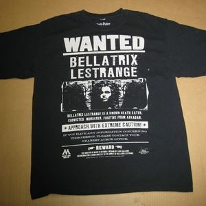 Wanted Bellatrix Lestrange T-Shirt (Harry Potter)